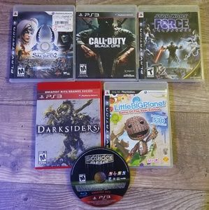 Other - Set of 6 ps3 games